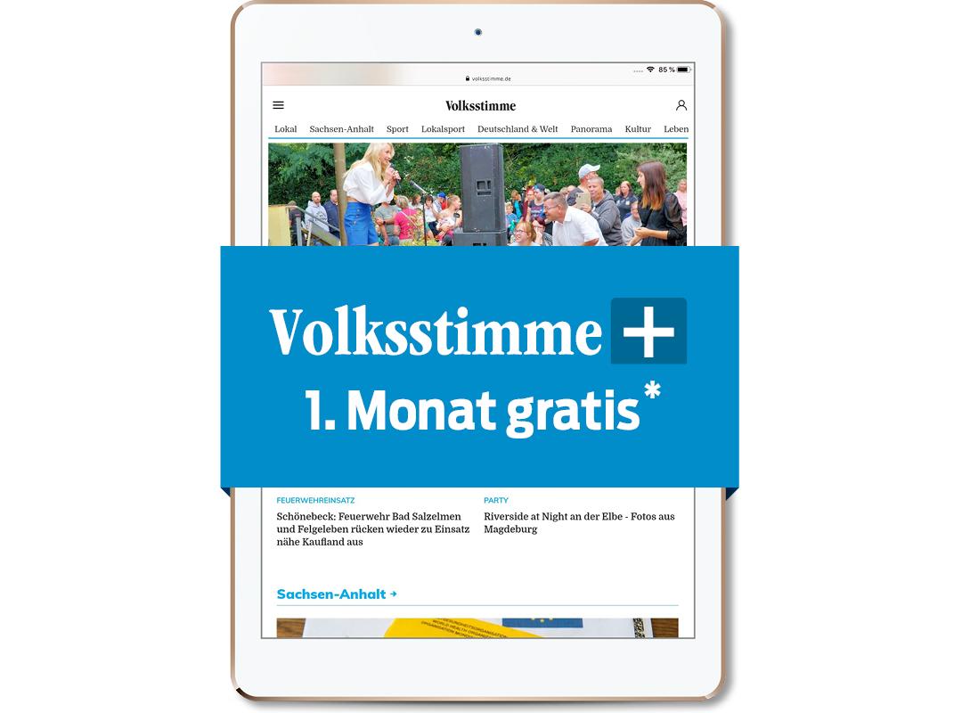 bild_Volksstimme+ im 1. Monat gratis